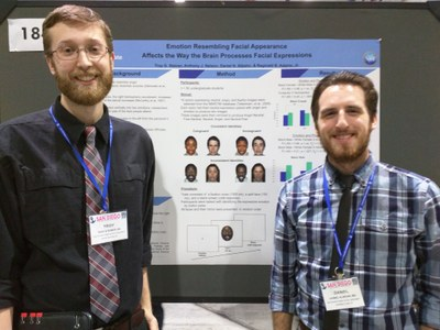 Troy and Dan presenting their Poster at SPSP